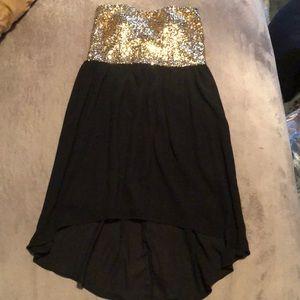 Formal Strapless Dress!